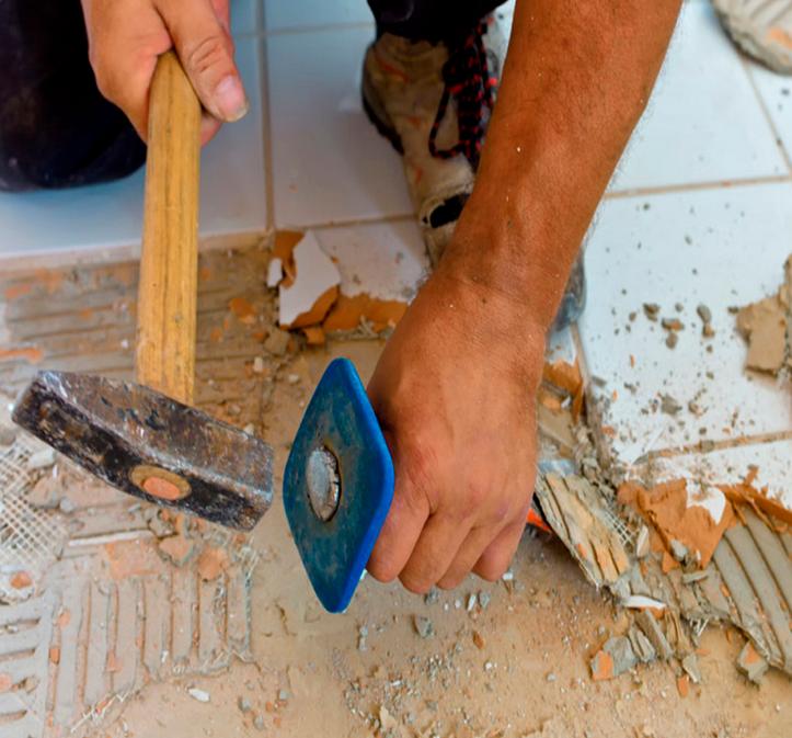 Как правильно сделать демонтаж